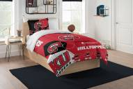 Western Kentucky Hilltoppers Hexagon Twin Comforter & Sham Set
