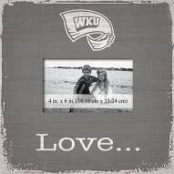 Western Kentucky Hilltoppers Love Picture Frame