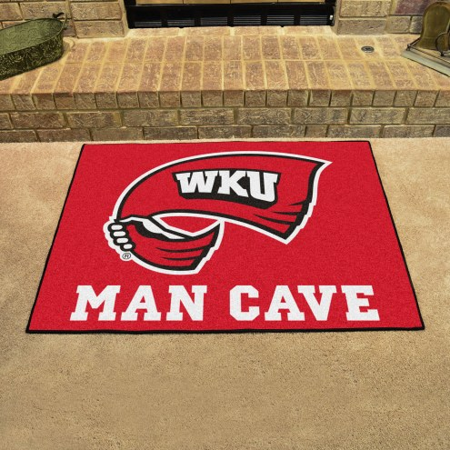 Western Kentucky Hilltoppers Man Cave All-Star Rug