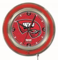 Western Kentucky Hilltoppers Neon Clock