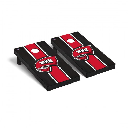 Western Kentucky Hilltoppers Onyx Stained Cornhole Game Set