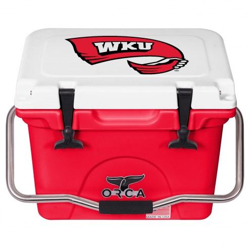 Western Kentucky Hilltoppers ORCA 20 Quart Cooler