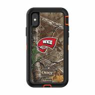 Western Kentucky Hilltoppers OtterBox iPhone X/Xs Defender Realtree Camo Case