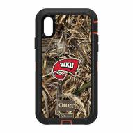 Western Kentucky Hilltoppers OtterBox iPhone XR Defender Realtree Camo Case
