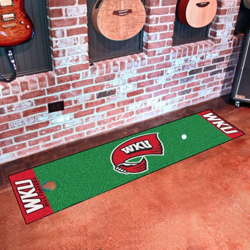 Western Kentucky Hilltoppers Putting Green Mat