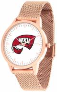 Western Kentucky Hilltoppers Rose Mesh Statement Watch