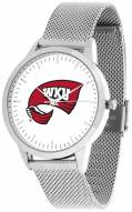 Western Kentucky Hilltoppers Silver Mesh Statement Watch