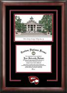 Western Kentucky Hilltoppers Spirit Diploma Frame with Campus Image