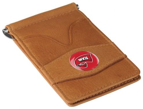 Western Kentucky Hilltoppers Tan Player's Wallet