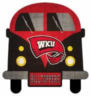 Western Kentucky Hilltoppers Team Bus Sign
