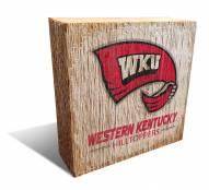 Western Kentucky Hilltoppers Team Logo Block