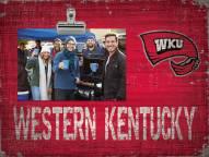 Western Kentucky Hilltoppers Team Name Clip Frame
