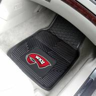 Western Kentucky Hilltoppers Vinyl 2-Piece Car Floor Mats