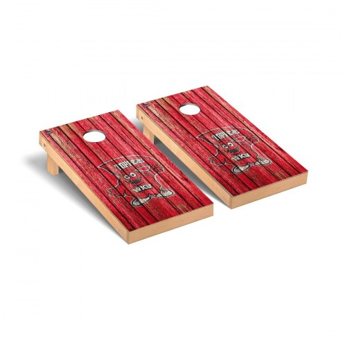 Western Kentucky Hilltoppers Weathered Cornhole Game Set
