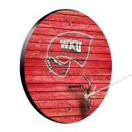 Western Kentucky Hilltoppers Weathered Design Hook & Ring Game