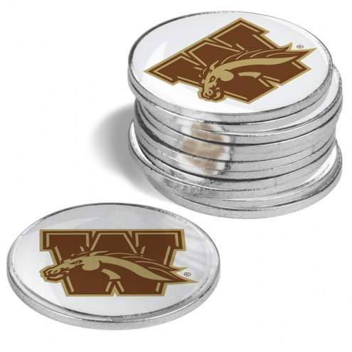 Western Michigan Broncos 12-Pack Golf Ball Markers