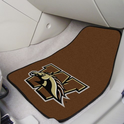 Western Michigan Broncos 2-Piece Carpet Car Mats