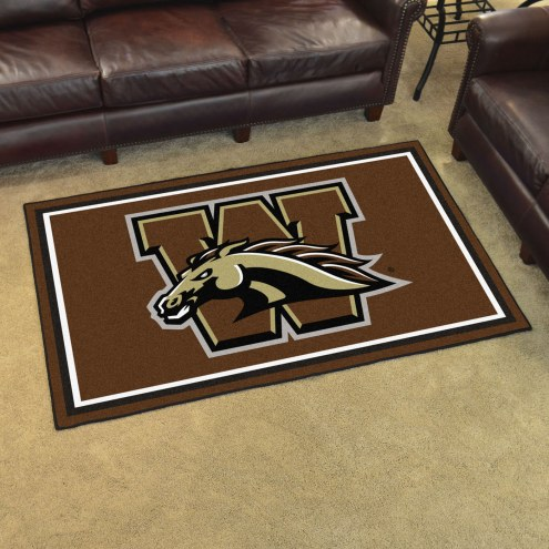Western Michigan Broncos 4' x 6' Area Rug
