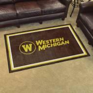 Western Michigan Broncos 4' x 6' Area Rug