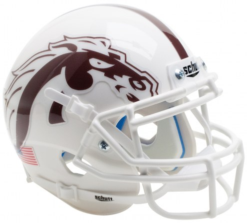 Western Michigan Broncos Alternate 3 Schutt XP Collectible Full Size Football Helmet