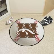 Western Michigan Broncos Baseball Rug