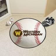Western Michigan Broncos Baseball Rug