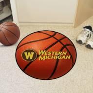 Western Michigan Broncos Basketball Mat