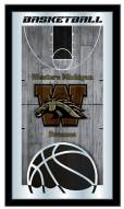 Western Michigan Broncos Basketball Mirror