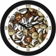 Western Michigan Broncos Candy Wall Clock