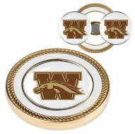 Western Michigan Broncos Challenge Coin with 2 Ball Markers