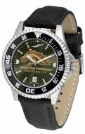 Western Michigan Broncos Competitor AnoChrome Men's Watch - Color Bezel