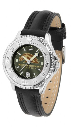 Western Michigan Broncos Competitor AnoChrome Women's Watch
