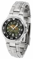 Western Michigan Broncos Competitor Steel AnoChrome Women's Watch - Color Bezel