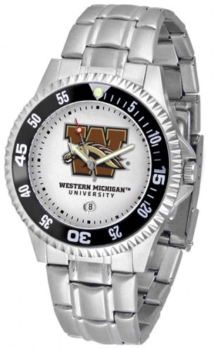 Western Michigan Broncos Competitor Steel Men's Watch