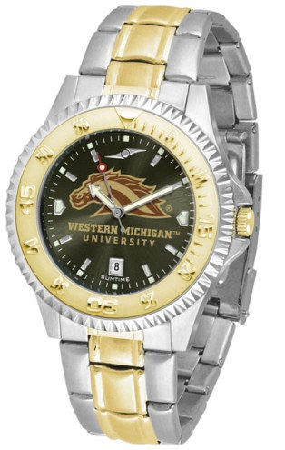 Western Michigan Broncos Competitor Two-Tone AnoChrome Men's Watch