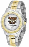 Western Michigan Broncos Competitor Two-Tone Men's Watch