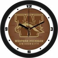 Western Michigan Broncos Dimension Wall Clock