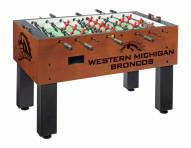 Western Michigan Broncos Foosball Table