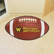 Western Michigan Broncos Football Floor Mat