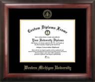 Western Michigan Broncos Gold Embossed Diploma Frame