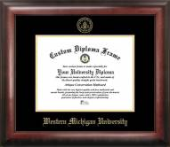 Western Michigan Broncos Gold Embossed Diploma Frame