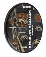 Western Michigan Broncos Digitally Printed Wood Sign