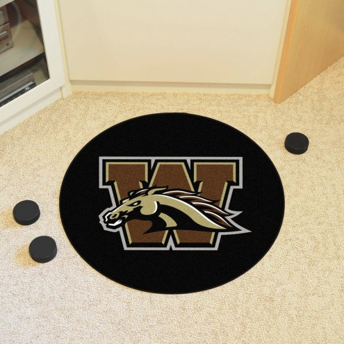 Western Michigan Broncos Hockey Puck Mat