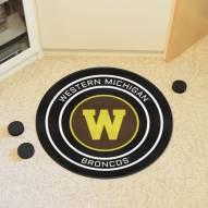 Western Michigan Broncos Hockey Puck Mat