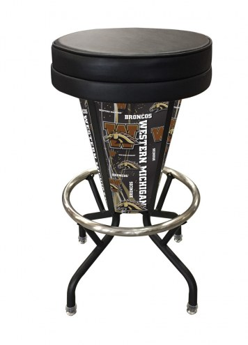 Western Michigan Broncos Indoor Lighted Bar Stool