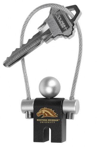 Western Michigan Broncos Jumper Keychain