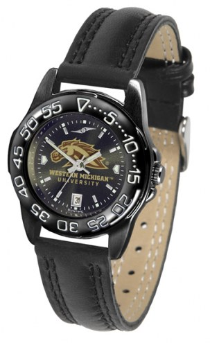 Western Michigan Broncos Ladies Fantom Bandit AnoChrome Watch
