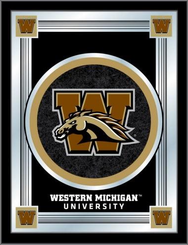Western Michigan Broncos Logo Mirror