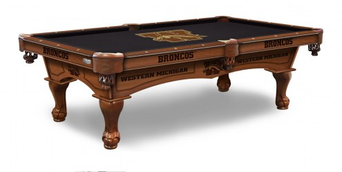 Western Michigan Broncos Pool Table