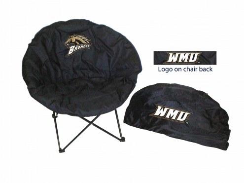 Western Michigan Broncos Rivalry Round Chair